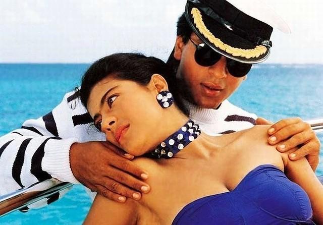SRK-Kajol in Baazigar