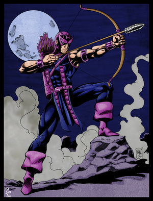 The character as portrayed in Marvel Comics