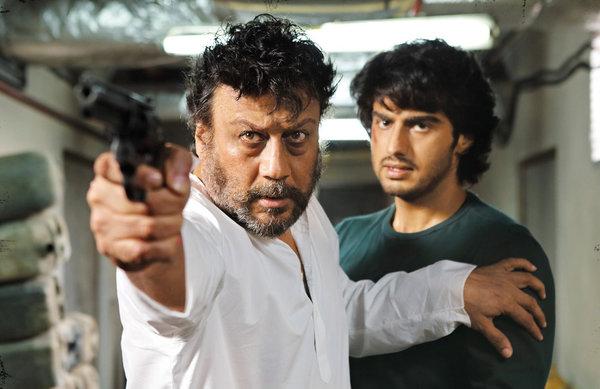 Arjun Kapoor with veteran Jackie Shroff
