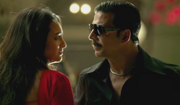 Akshay-Sonakshi in Once Upon A Time In Mumbaai Again