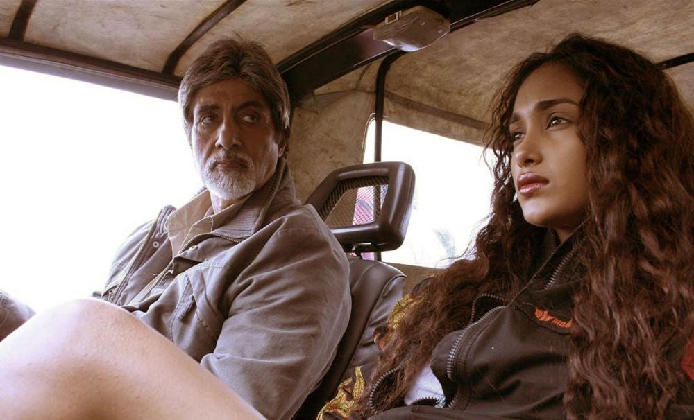 Amitabh Bachchan with the late Jiah Khan in  Nishabd  (2007)