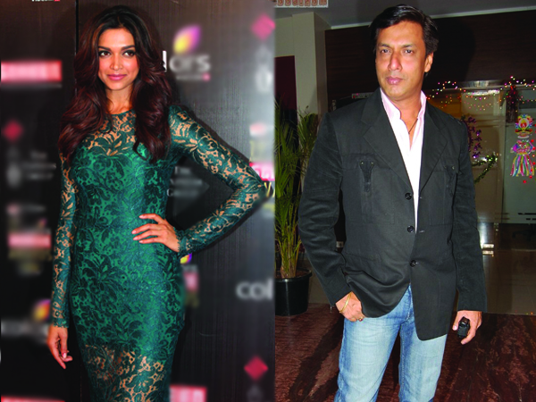 Madhur has not approached Deepika for any film
