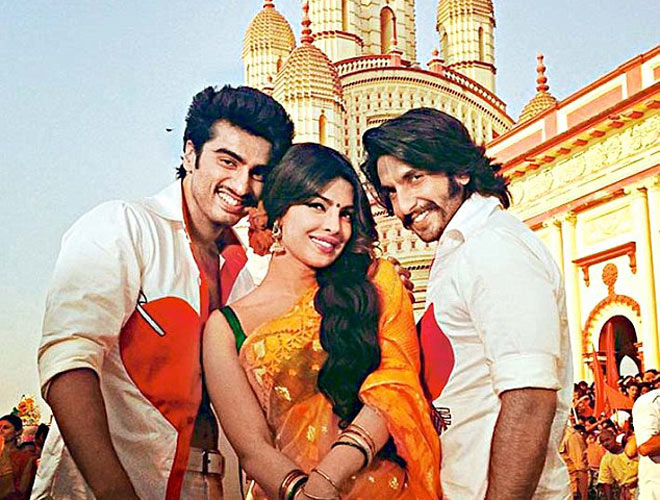 Arjun-Ranveer-Priyanka in  Gunday