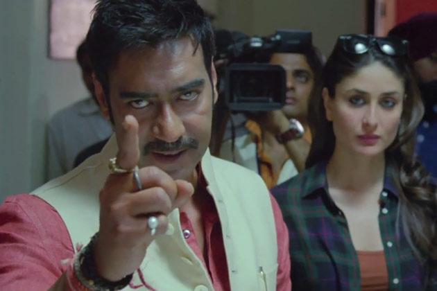 Ajay-Kareena in  Satyagraha