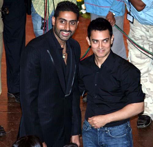 Abhishek is in awe of Aamir Khan