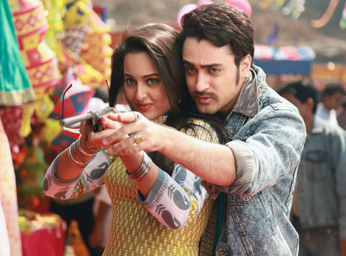Imran-Sonakshi in  Once Upon A Time In Mumbai Dobara