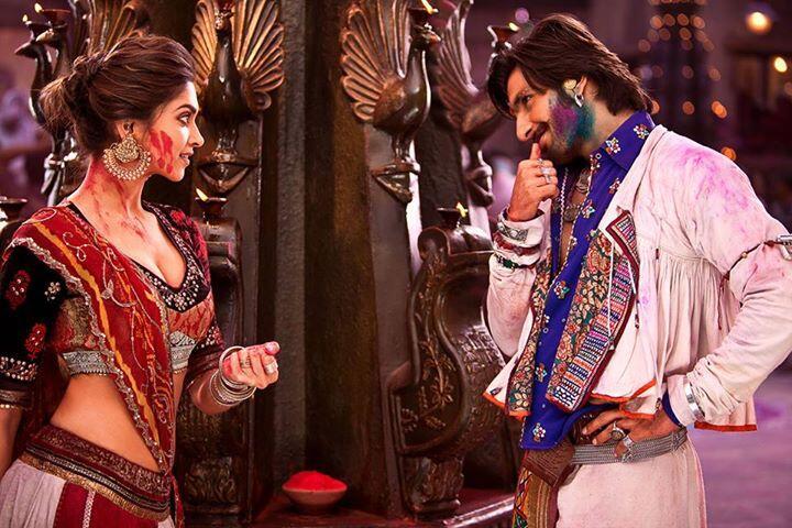 Ranveer-Deepika in  Ramleela