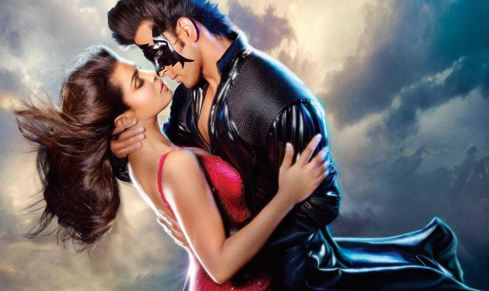 Hrithik and Priyanka in  Krrish 3