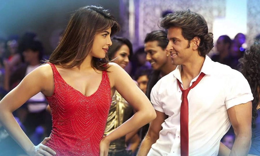 Hrithik and Priyanka in Krrish 3