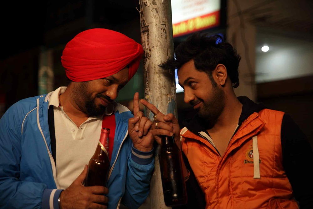 A still from  Bha Ji in Problem