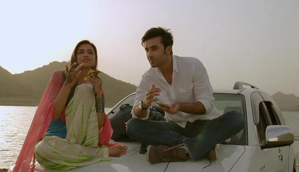 Deepika with ex beau Ranbir in  Yeh Jawaani Hai Deewani
