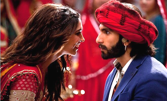 Deepika-Ranveer in the superhit song from Bhansali's smash hit film