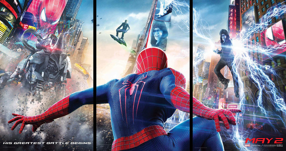 The first official poster of The Amazing Spider-Man 2