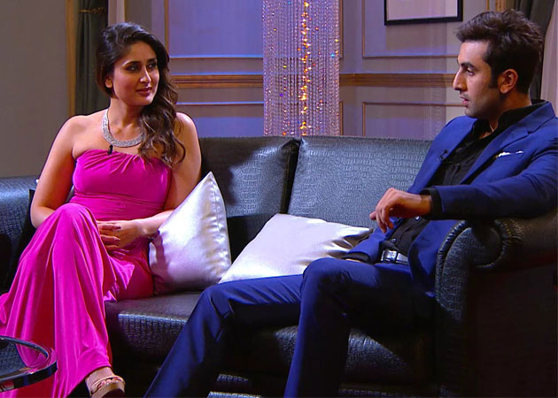 Fifth generation Kapoors. Ranbir and Kareena came together on Karan's infamous couch