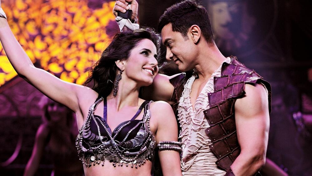 Aamir-Katrina in  Dhoom:3