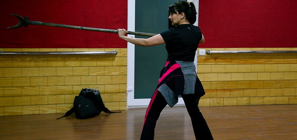 Madhuri training for  Gulaab Gang