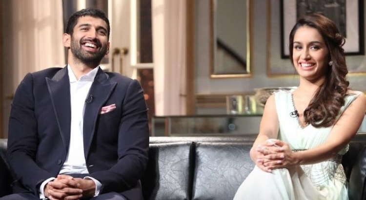 Aditya and Shraddha were as charming as ever on Karan's Kontroversial Kouch