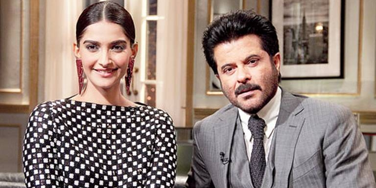 The show turned out to be more Koffee with Sonam than Koffee with Anil and Sonam!