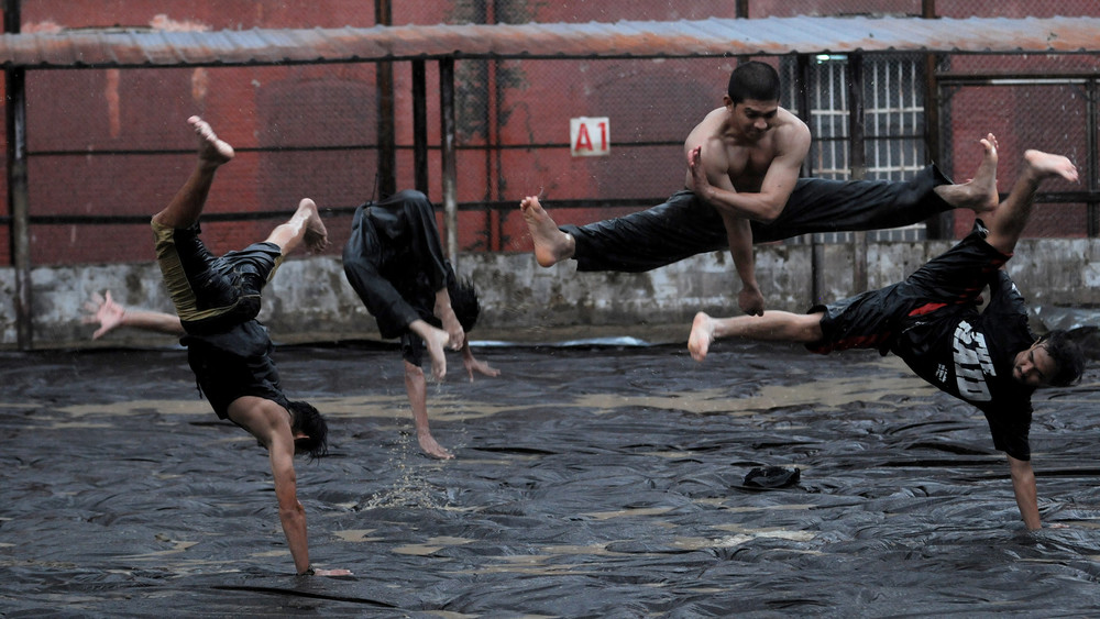 A still from  The Raid 2