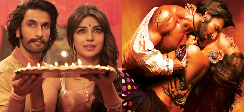Ranveer Singh, Deepika Padukone and Priyanka Chopra will star in Sanjay Leela Bhansali's  Bajirao Mastani