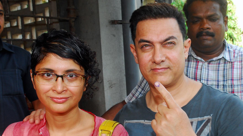 Aamir Khan urged civilians to vote