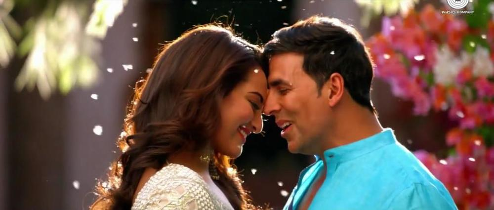 Akshay-Sonakshi in Holiday: A Soldier Is Never Off Duty,