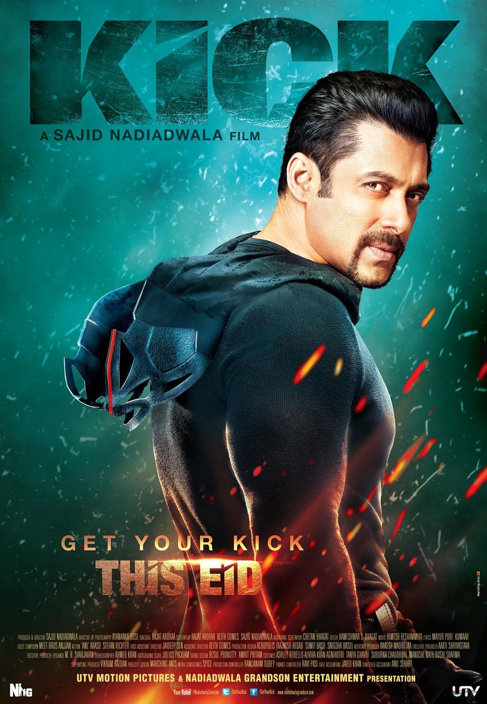 The theatrical poster of  Kick