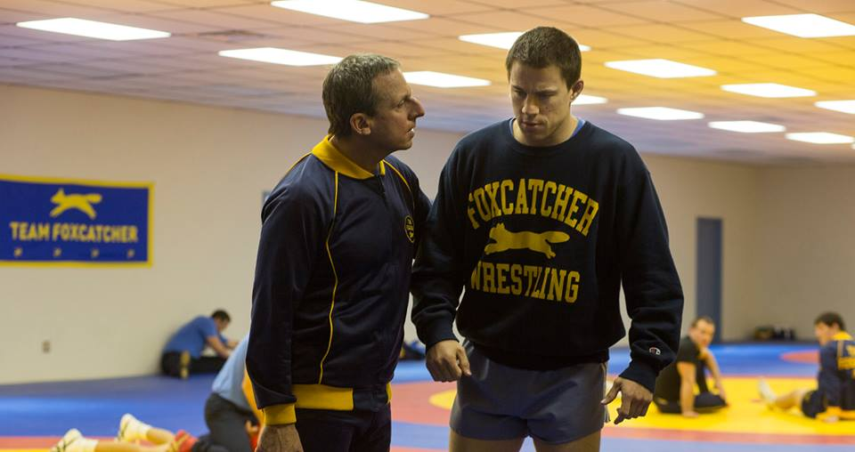 Carrel and Tatum in Foxcatcher