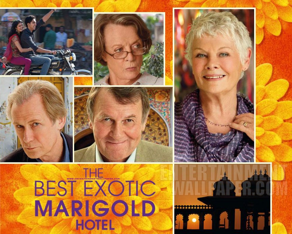The Best Exotic Marigold Hotel  Theatrcial Poster