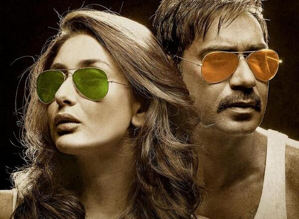 Ajay-Kareena in Singham Returns