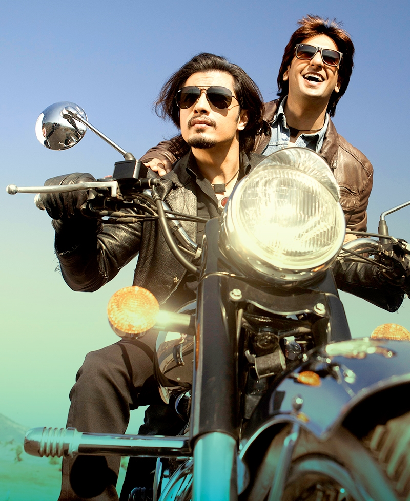 Ali Zafar with Ranveer Singh in  Kill Dil