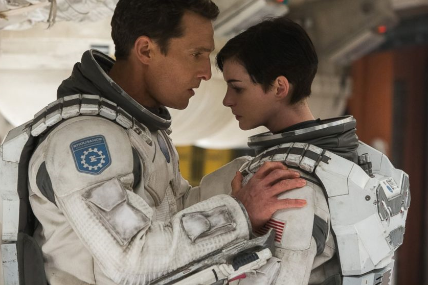 Matthew McConaughey & Anne Hathaway in Interstellar