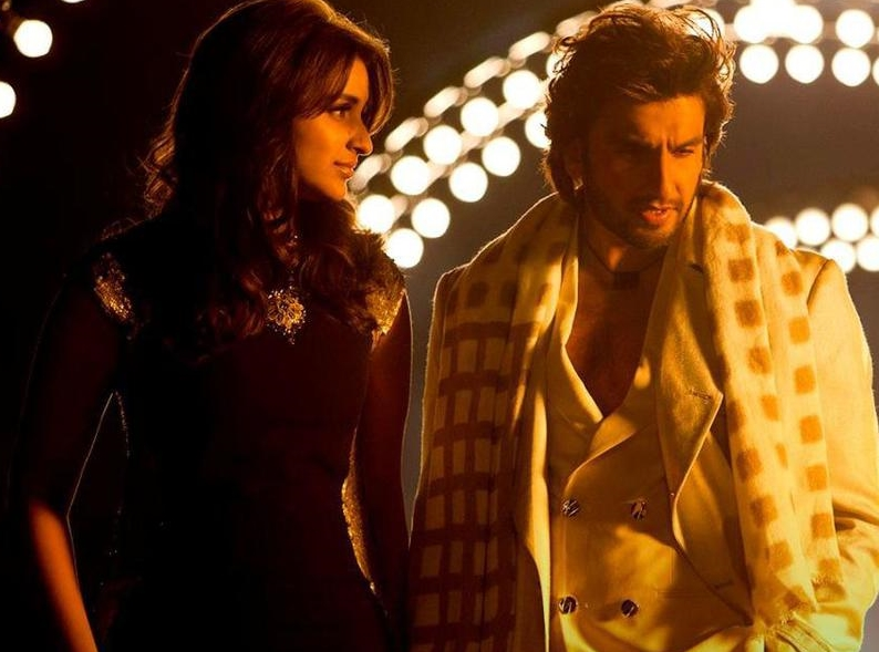 Parineeti Chopra with Ranveer Singh in Kill Dil