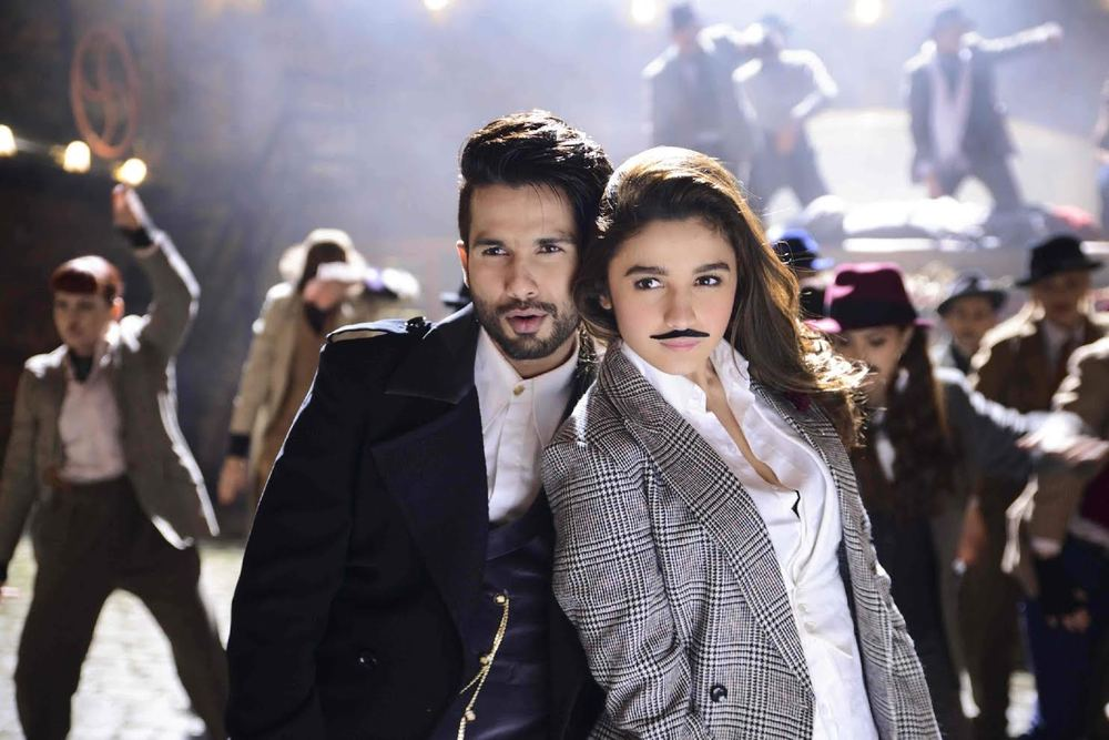 Shahid and Alia in  Shaandaar