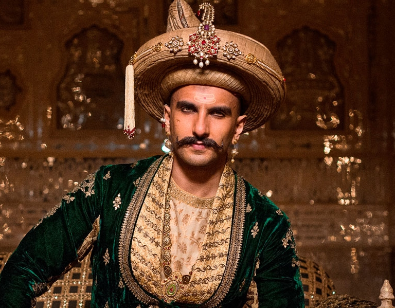 Ranveer completely arrests to the character