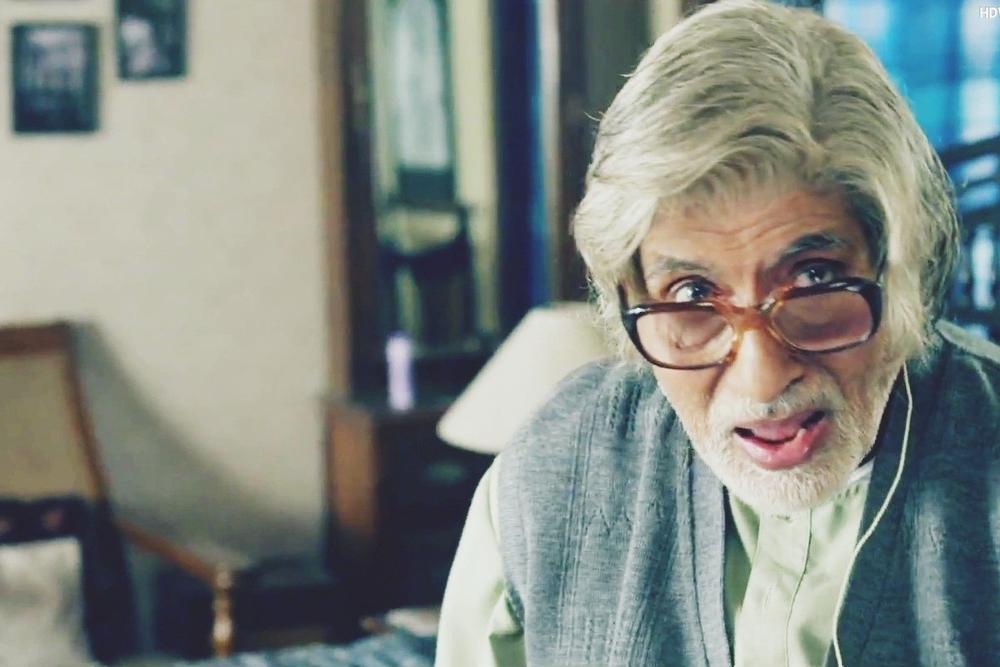Bachchan dazzled in a film revolving around shit
