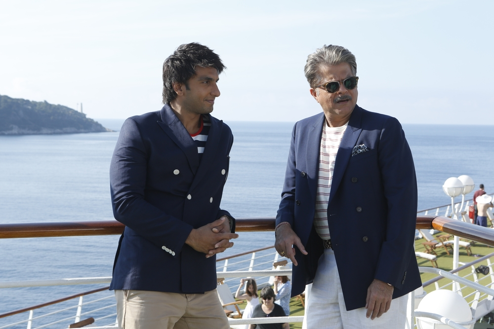 Anil Kapoor was stellar in a film about a cruise trip that goes awry