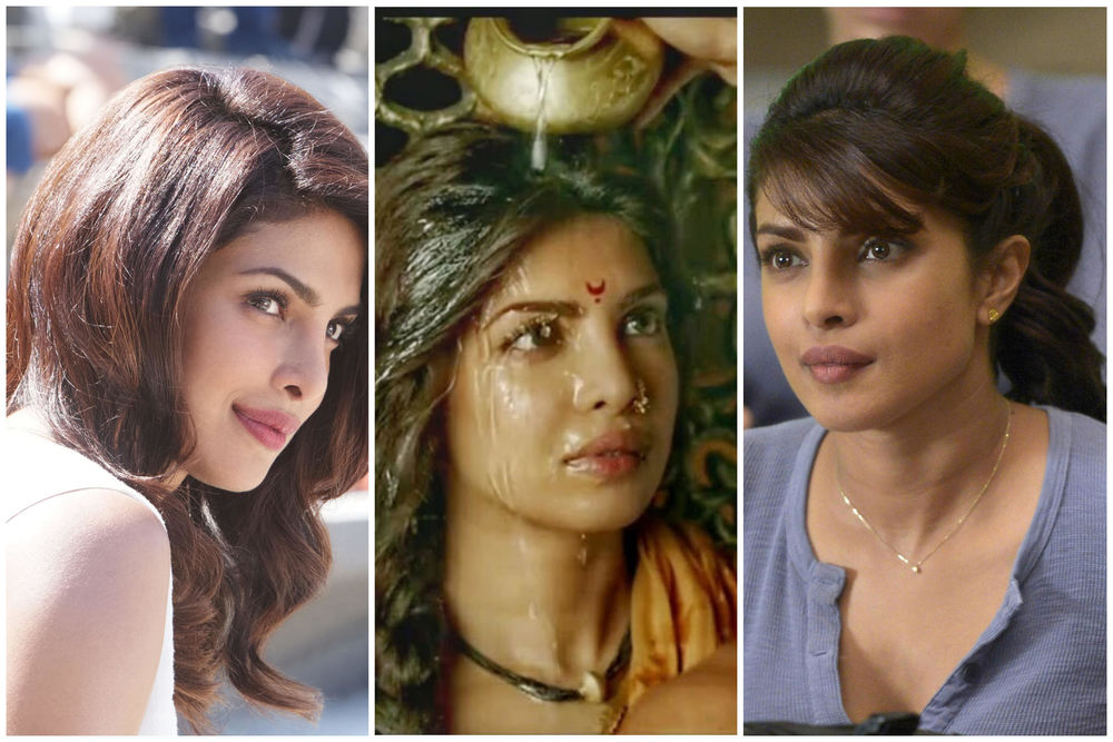 Versatility thy first name is Priyanka