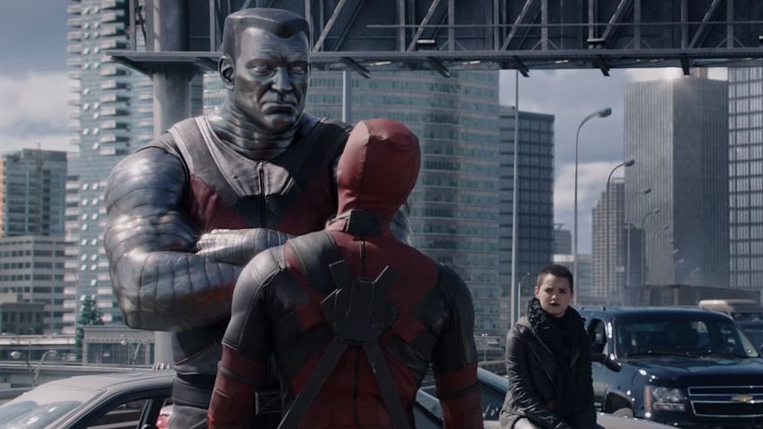So two-dimensional is the Colossus and his CGI rendering that it makes him a weaker foil for Deadpool's clowning