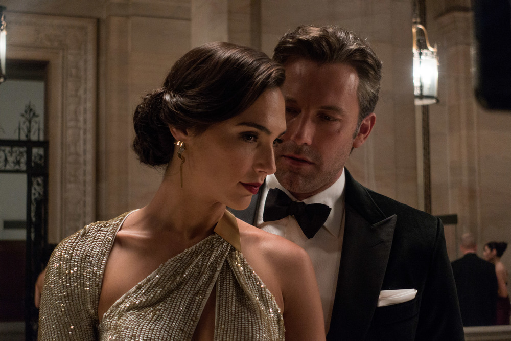 Gadot and Affleck are the film's bright sparks