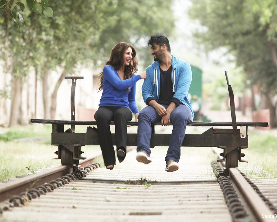 Arjun-Kareena see the film through despite its shortcomings