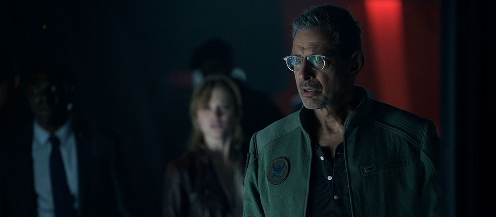 Goldblum's about the only watchable thing in the film