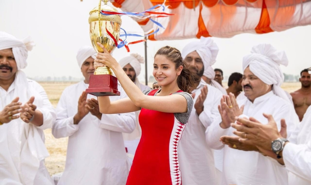 Anushka Sharma brings her usual effervescence to the part but doesn't offer anything new