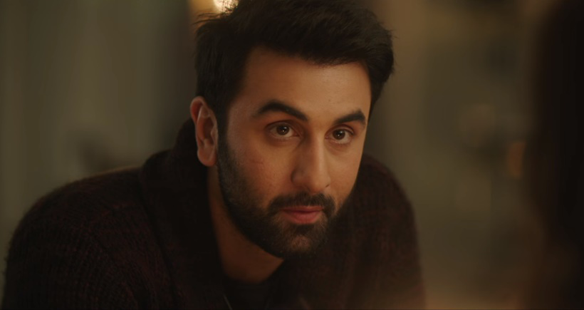 One of the highlights in Ranbir's performance, is his character's total lack of self-control
