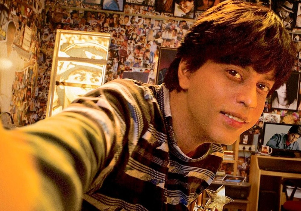 Shah Rukh Khan in and as Fan