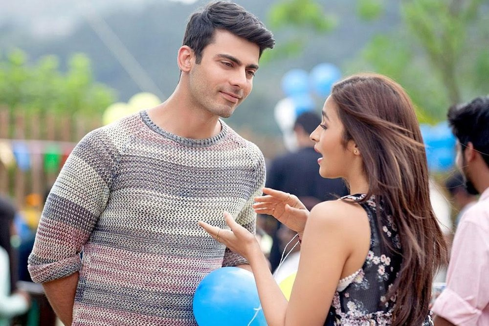 Fawad Khan & Alia Bhatt in Kapoor & Sons