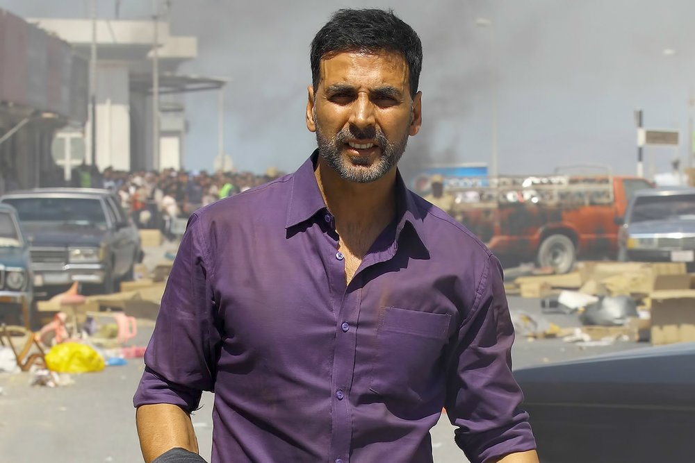 Akshay shows remarkable restraint in  Airlift