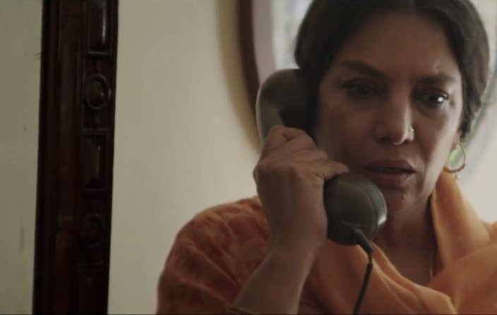 Shabana Azmi continues to surprise decades later