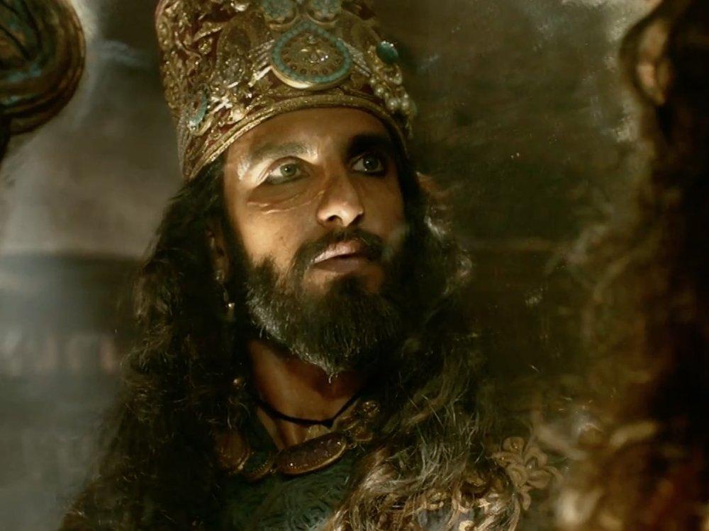 Ranveer as the ruthless Alauddin Khilji