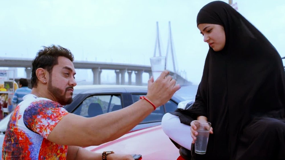 Aamir and Zaira have an easy camaraderie
